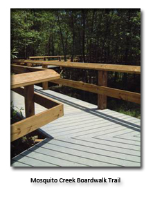 Mosquito Creek Boardwalk Trail