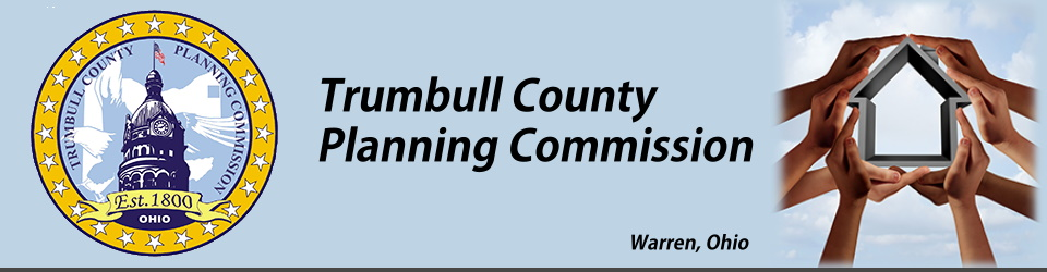 Header introducing Trumbull County Planning Commission.